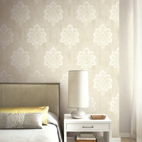 Modern wallpapers Leaf Damask-210254