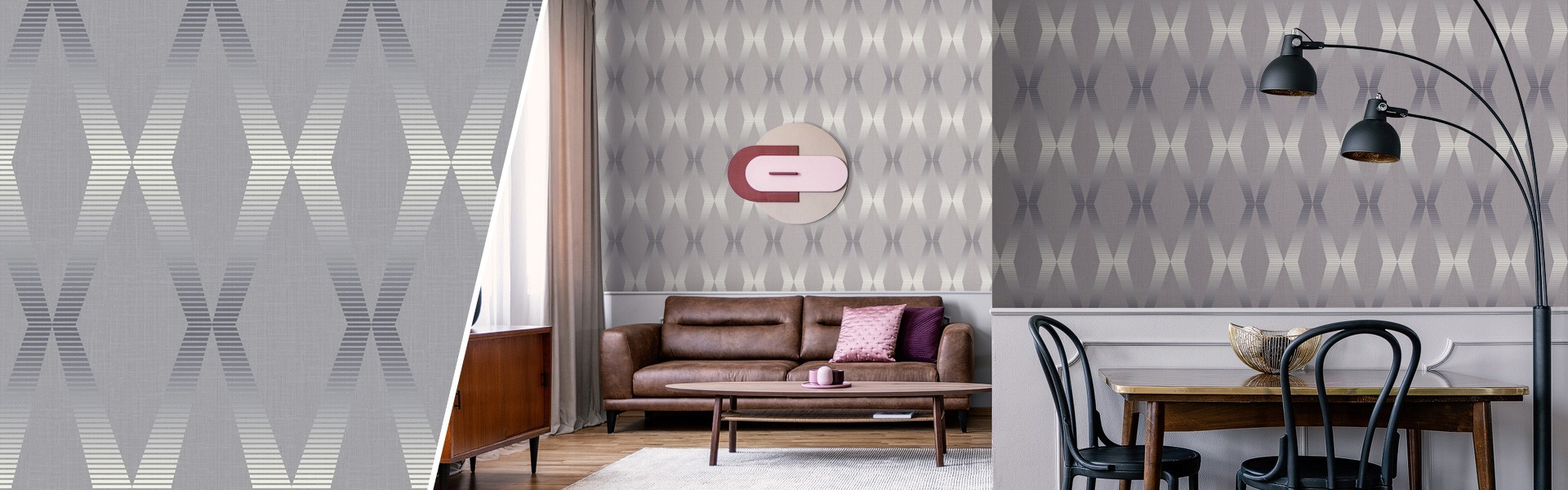 Geometric wallcoverings