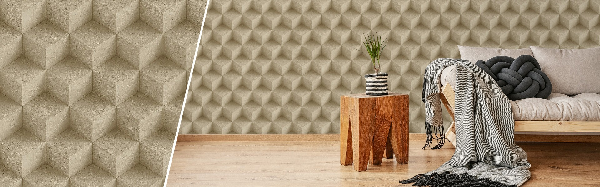 3D wallcovering